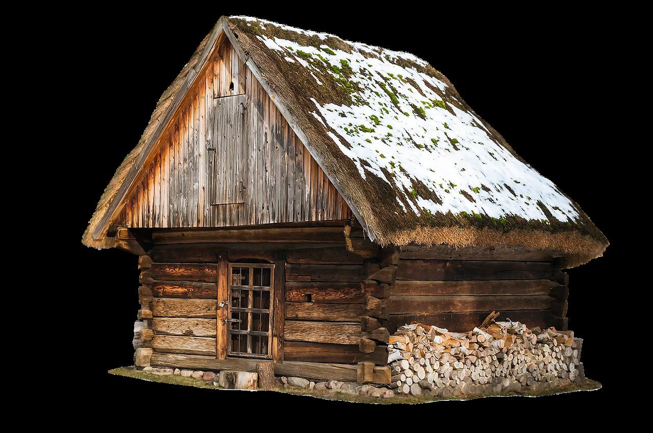 Cabin Hut Building Architecture  - jean52Photosstock / Pixabay